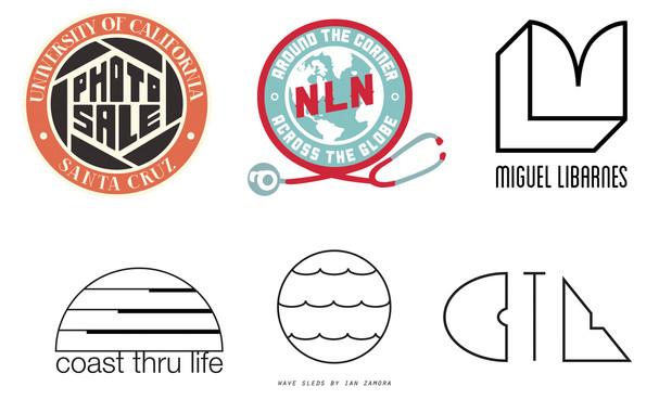Logo Design for UC Santa Cruz, National League for Nursing, Coast Thru Life, and Surfboard Shaper Ian Zamora
