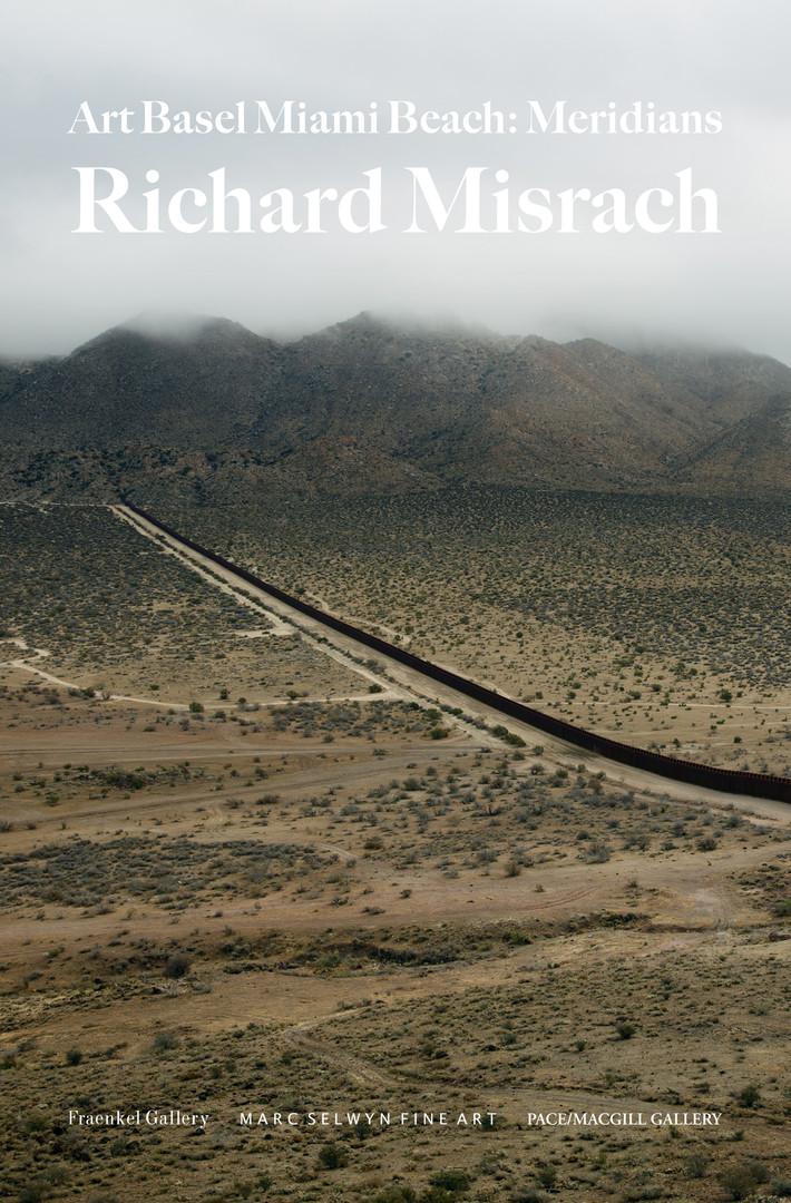 Ad for Richard Misrach: Meridians