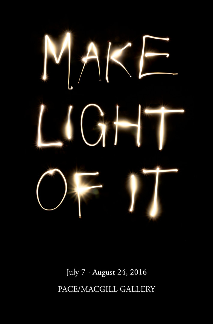 Ad for Make Light of It