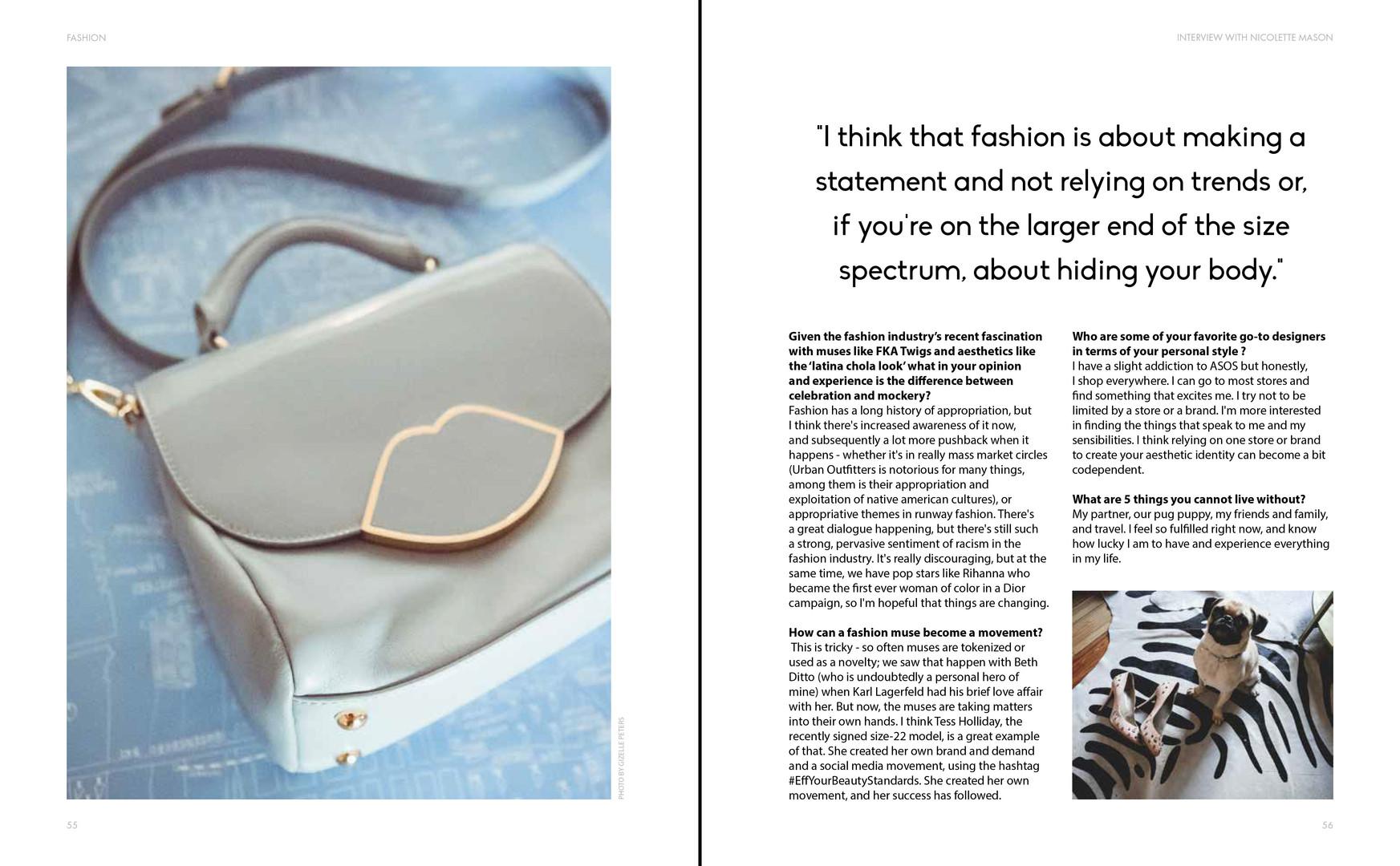 Posture Magazine Issue No. 1: Spread