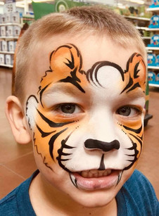 Jerry the Face Painted Tiger
