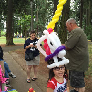 Balloon Unicorn Hat