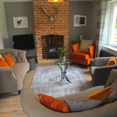 Hollowcombe Cottage Sitting Room