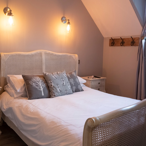 Barn Owl Bedroom at Hollowcombe Cottage