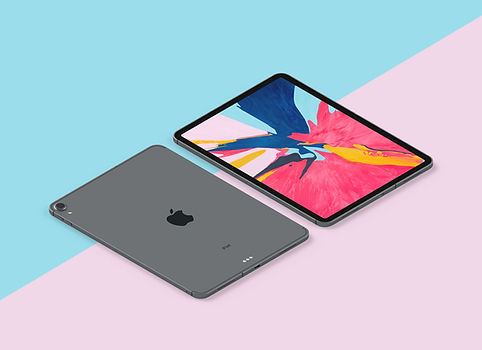 Free-New-iPad-Pro-2018-Mockup-PSD-in-Per