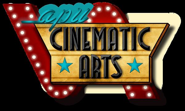 CinematicArtsLogoFinalTextured_APU_Rsize