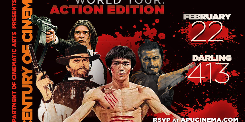 Century of Cinema Presents: A World Tour of Cinema--Action Edition