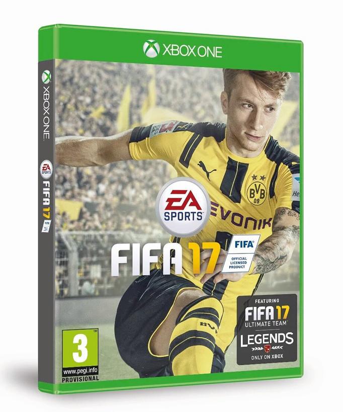 MARCO REUS SERÁ EL PROTAGONISTA DE LA PORTADA DE FIFA 17