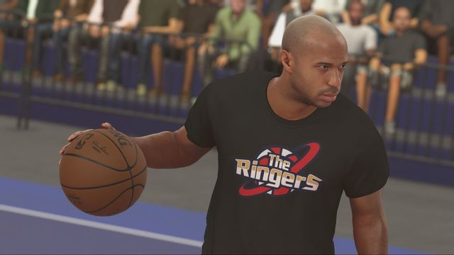 ¿¿WHATTTT?? THIERRY HENRY APARECERÁ EN NBA 2K17 !!