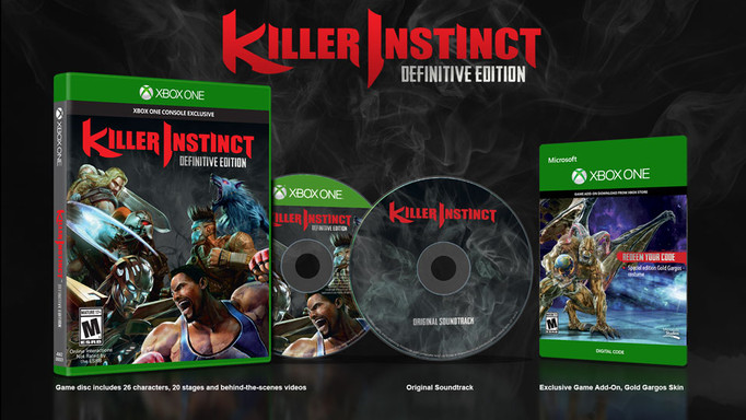 """COMBO BREAKER""!!! KILLER INSTINCT TENDRÁ LA VERSIÓN DEFINITIVE EDITION"
