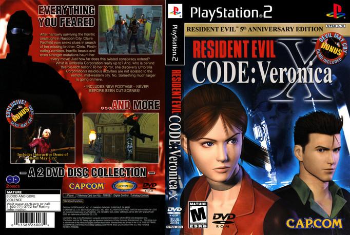 RESIDENT EVIL: CODE VERONICA SE SUMARÁ A LOS CLÁSICOS DE PS2 EN PS4