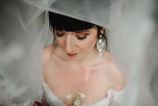 beautiful bridal make-up