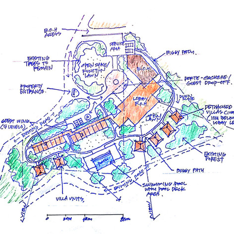 Heritage Hotel Concept Idea & Feasibility Study, Tagay Tay, Philippines