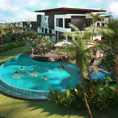 Luxury Villa Landscape Design Development, Johor Bahru, Malaysia