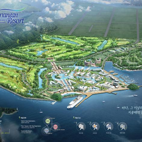 Undong Tourism & Leisure Town Development Competition, Jinhae City, Korea