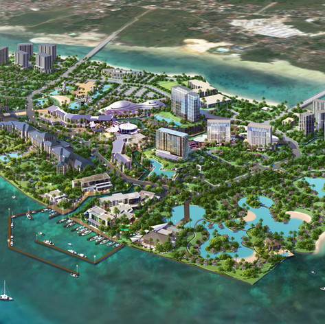 Cordova Mixed Use Resort Island Development, Cebu, Philippines