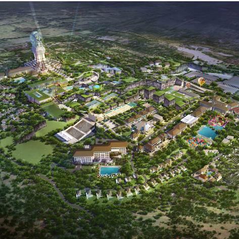 GWK Cultural Theme Park Renovation, Bali Indonesia