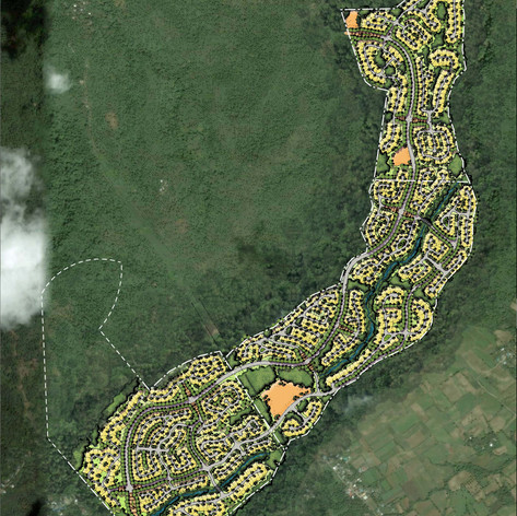 Canlubang Residential Subdivision Concept Master Plan Development, Tagay Tay, Philippines