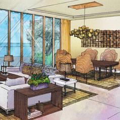 Jeju Hyatt Regency Hotel Interior Renovation Idea Study, Juju Island, Korea