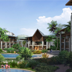Marriott Saba Bay Resort, Bali, Indonesia