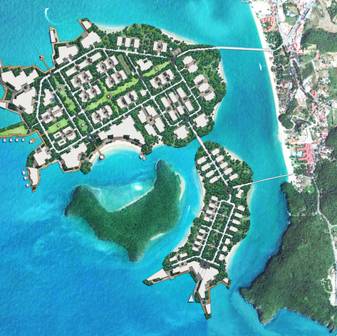Mixed Use Island Development, Malaysia