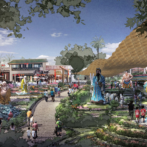 Hwa Par Villa Theme Park Feasibility Study, Singapore