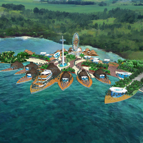 Floating Fishing Village Mixed Use Development, Cebu, Philippines