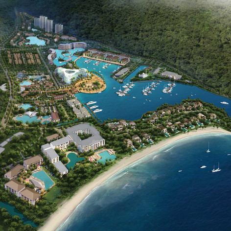 Perdana Quay Development, Langkawi, Malaysia