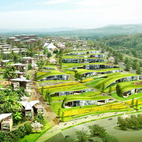 Jeju Resort Farm Condominium Development Design Competition, Jeju Island, Korea