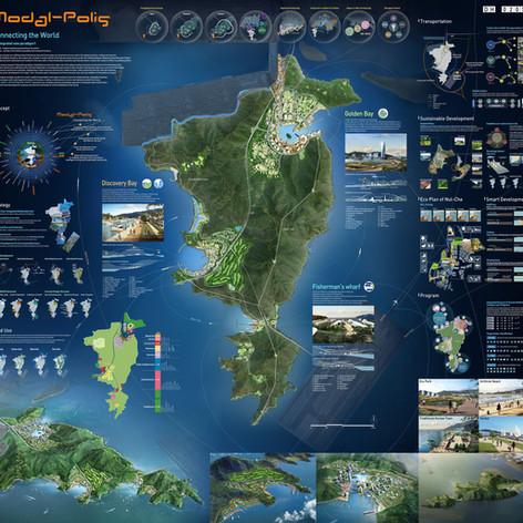 Gadukdo Island Development International Urban Design Competition, Busan, Korea
