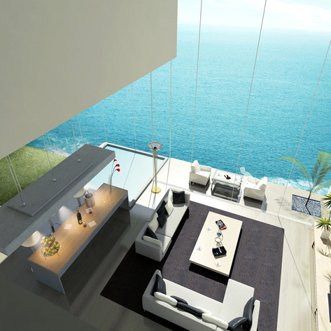 Seaside Luxury Villa Development Competition, Busan, Korea