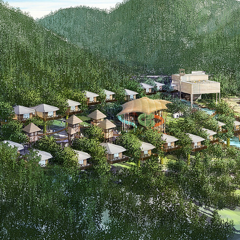 Treetop Glamping Resort Development, Kyungju City, Korea