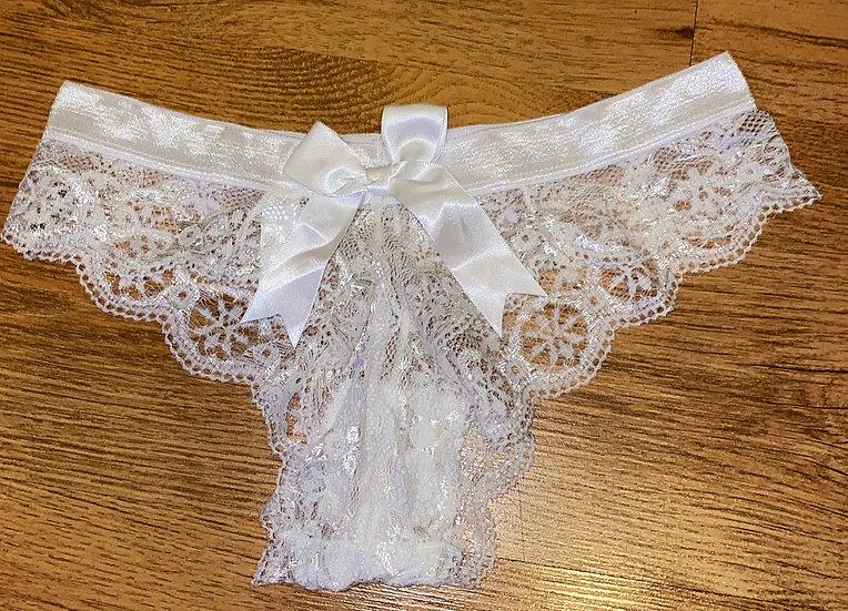White ribbon cheekys