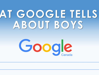 What Google Tells Us About Boys