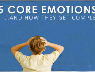 Our 5 Core Emotions And How We Make Them So Complex