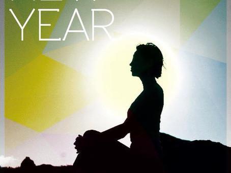 New Year Greetings & Saturday Yoga Schedule