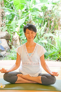 Sandra is Chinese Canadian from Vancouver. She graduated with a Kinesiology degree. With her knowledge in anatomy, yoga asana, and philosophy, she wants to help people to find calmness, mindfulness, and balance through yoga practice.