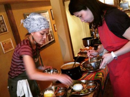 アーユルヴェーディックな南インド料理教室