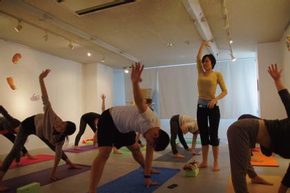 Sandra Fang Lesson サンドラ ファン レッスン   Yoga Forest Kyoto ヨガフォレスト京都