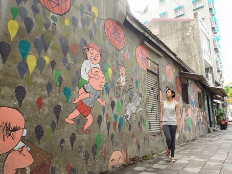 Taiwan - Tainan (World Trip Day 4)