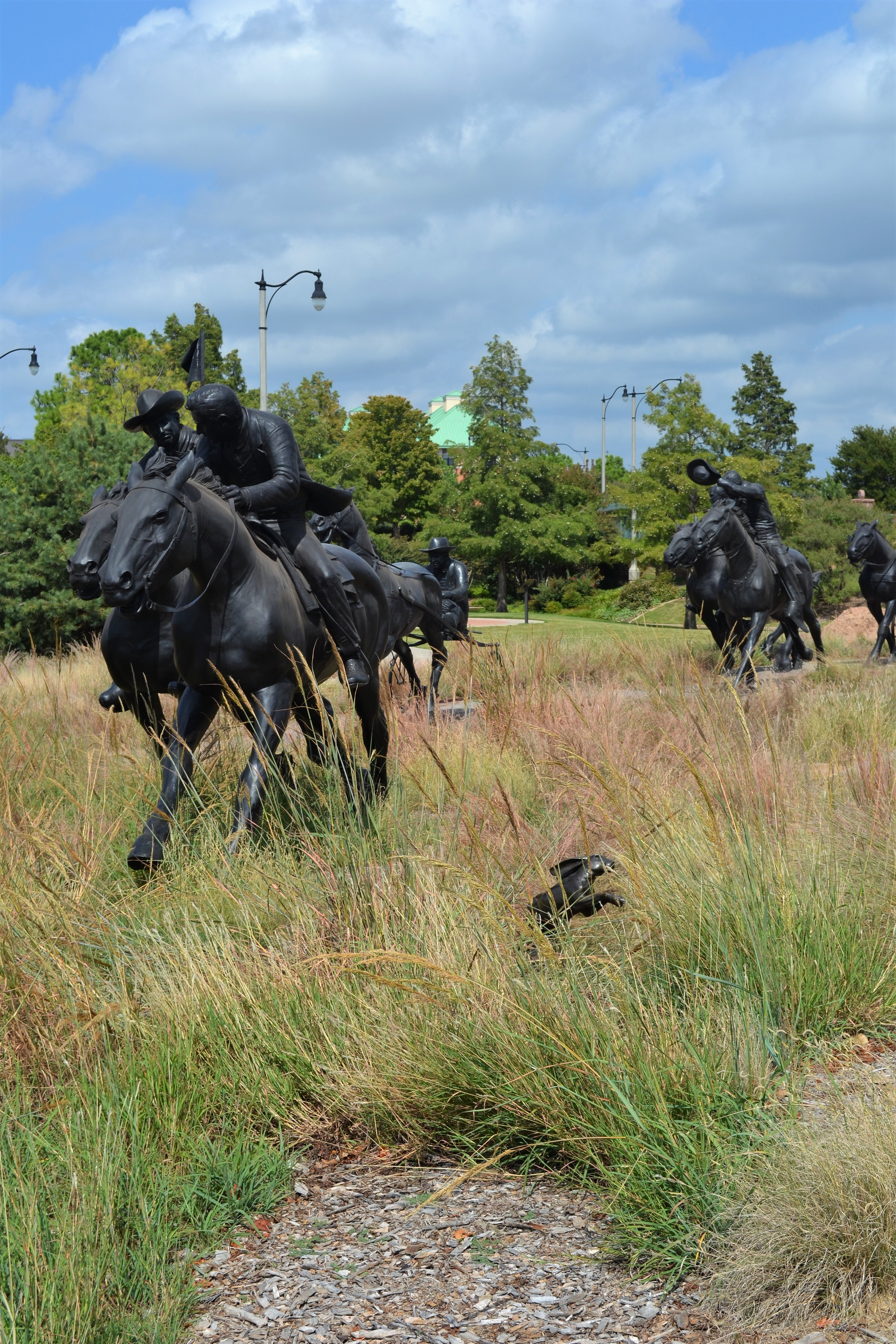 Land Run Sculpture Park