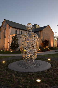Plensa Sculpture