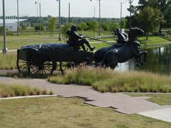 Land Run Sculpture Park