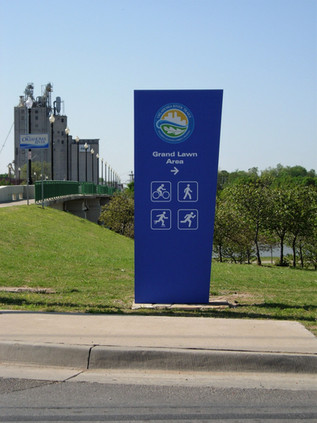 OK River Signage
