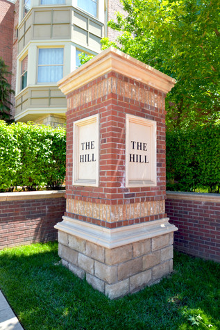 The Hill at Bricktown Sign
