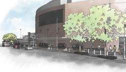 Chesapeake Energy Arena Plaza