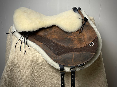 Shearling Seat and Cantle Wedge