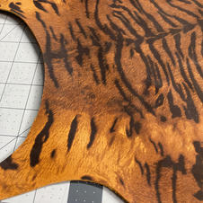 TIGER PRINT COWHIDE