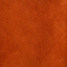 SUEDE LEATHER RUST