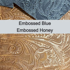 Tooled Blue and Honey